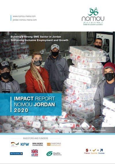 تقرير أثر صندوق نمو الأردن 2020